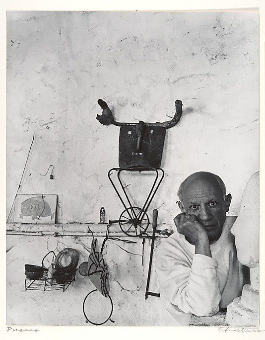 Picasso by Arnold Newman