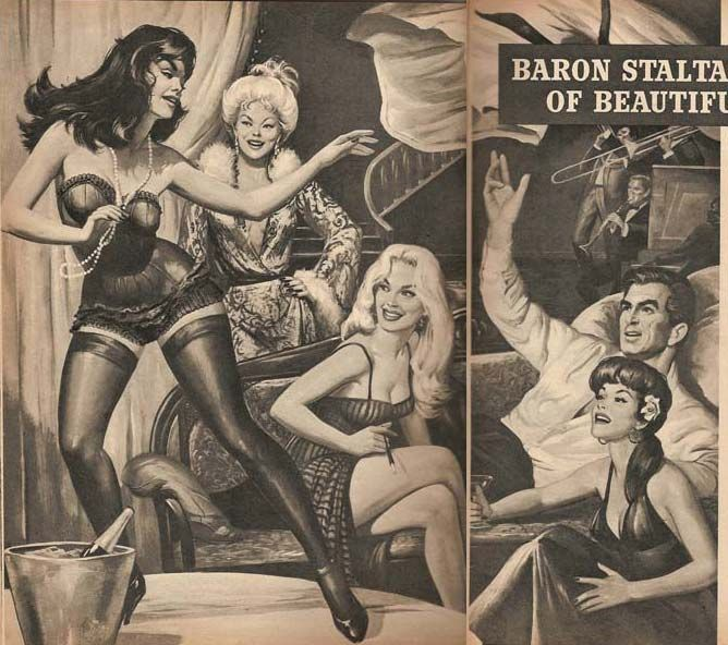 Baron Staltazen's House of Beautiful Women | PulpArt ...
