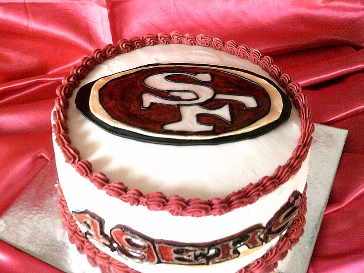 - SAN FRANCISCO 49ERS CAKE