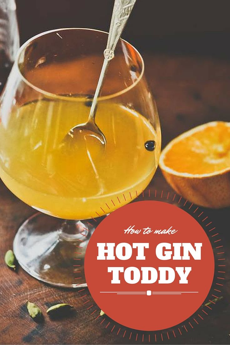 When normal G&Ts don't hit the usual spot during the winter. A gin hot toddy is the perfect boozy comfort blanket when it's freezing. Here's the recipe for making the drink.