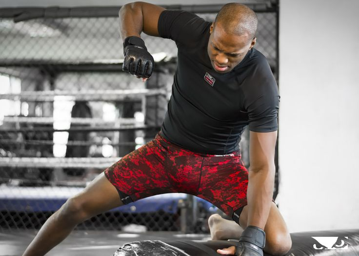 """Michael """"Venom"""" Page is always ready to strike. Grab the Legacy 2.0 MMA Gloves that he's wearing, for your next workout - Bad Boy - Bad Boy Athlete - Bellator 165"""