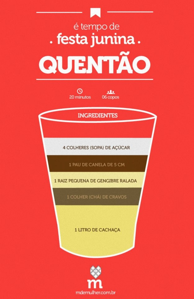 Quentão Receita um Típico Beber livre Brasil Junho Festividades - / Mulled wine one Recipe Drinking Typical free Brazil June Festivities -
