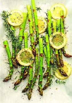 Roasted Asparagus -- The easiest and best way to cook asparagus.