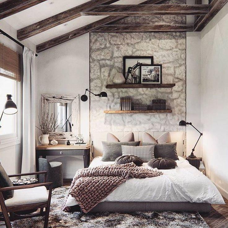 1870 best idées déco images on Pinterest Bedroom ideas, Attic