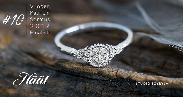 Gáldu-sormus, Oz Jewel. Designer Vesa Nilsson. Vuoden Kaunein Sormus 2017 -finalisti. Via https://www.haat.fi/fi/3224/vuoden-kaunein-sormus-kilpailu