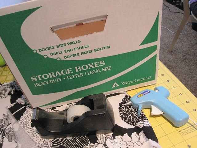 Ikea Expedit Fabric Covered Boxes - Rae Gun Ramblings