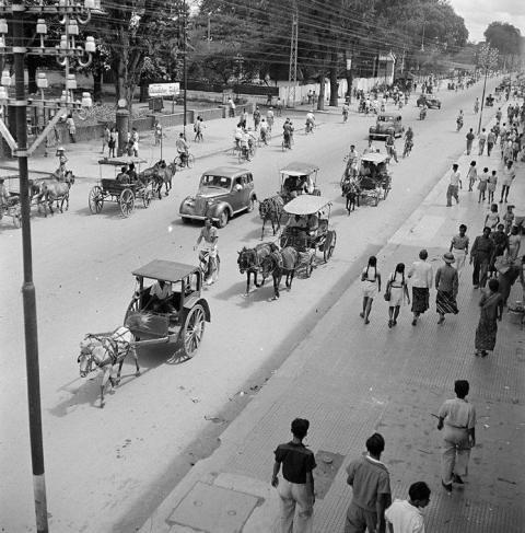 Jogjakarta in the old days - Malioboro