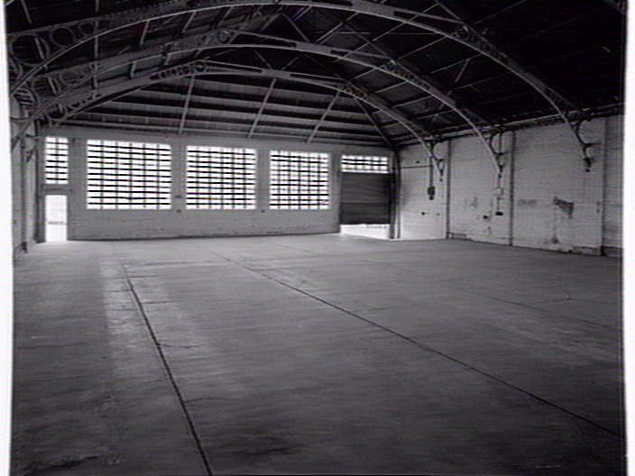 Interior View Of Empty Warehouse Abbotsford St North