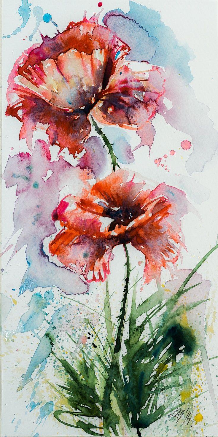 ARTFINDER: Poppies by Kovács Anna Brigitta -                                                                                                                                                                                 More