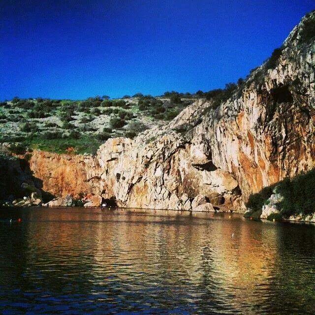 Greece Vouliagmenis lake