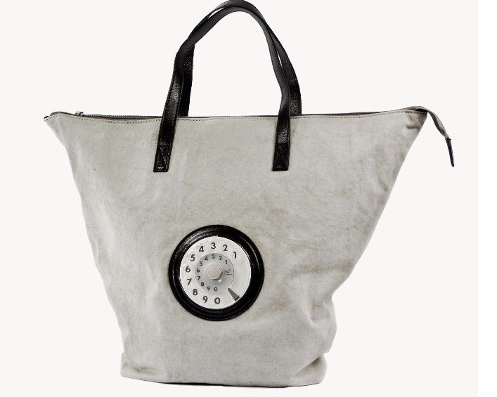"Borsa La Tilde ""Easy bag""  grigia"