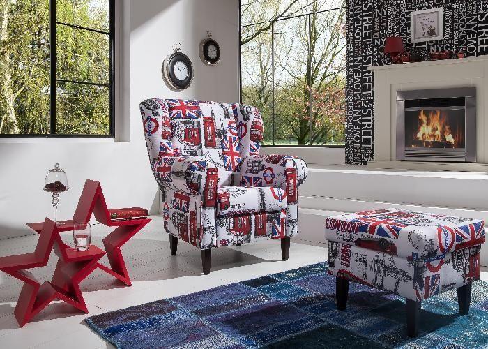 sessel london im vintage look good old times der. Black Bedroom Furniture Sets. Home Design Ideas