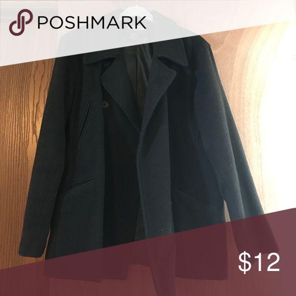Old Navy pea coat Dark green hunter Old Navy peacoat Old Navy Jackets & Coats Pea Coats