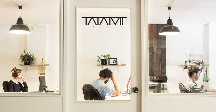 Tatami coworking offices interior, designed by Bloomint