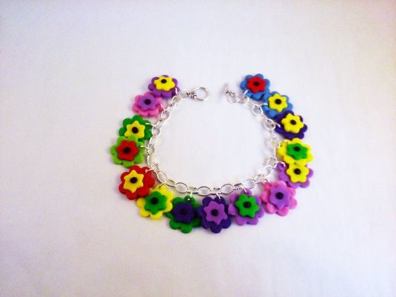 Flower charm bracelet Available Online To Buy From Special Gifts Online For A Great Deal On Flower charm bracelet Or Any Other Unique Handmade Craft Gifts And Creative Gift Ideas Visit Stallandcraftcollective.co.uk #4697