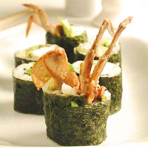 Wooo spider rolls. Actually just deep fried crab