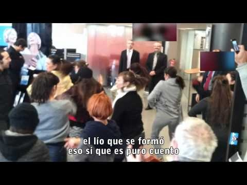 Flo6x8 Barcelona 08.02.12 'Esto no es crisis, se llama capitalismo' rumba catalana