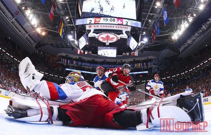 России нанесено ледяное поражение http://ruinformer.com/page/rossii-naneseno-ledjanoe-porazhenie  25 сентября в Торонто сборная России проиграла канадцам в полуфинале Кубка мира по хоккею со счётом 5:3.Борьба была напряжённой: с российской стороны в первый период игры было заброшено две шайбы (Никитой Кучеровым на 29-й минуте и Евгением Кузнецовым на 37-й), канадцам же удалось забить лишь одну (Сидни Кросби на 8-й минуте).Таким образом, во втором периоде наша команда вела со счётом 2:1 и…