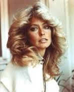 My favorite hairstyle. 1970 fashion - everyone wanted Farrah's hair (God Rest Her Soul) xo