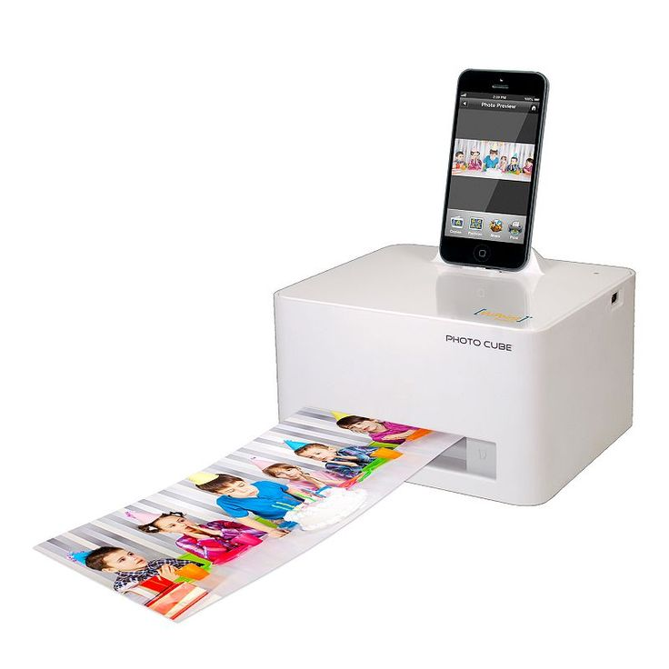 Kohl's VuPoint Solutions Photo Cube Photo Printer & Charger