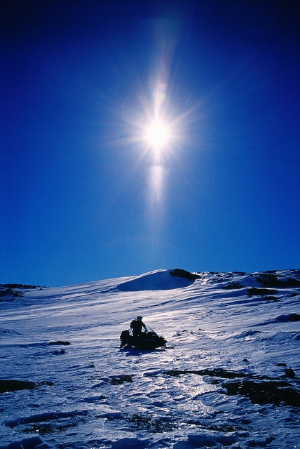 Blue moment in Finnish lapland, Finland by Visit Finland, via Flickr