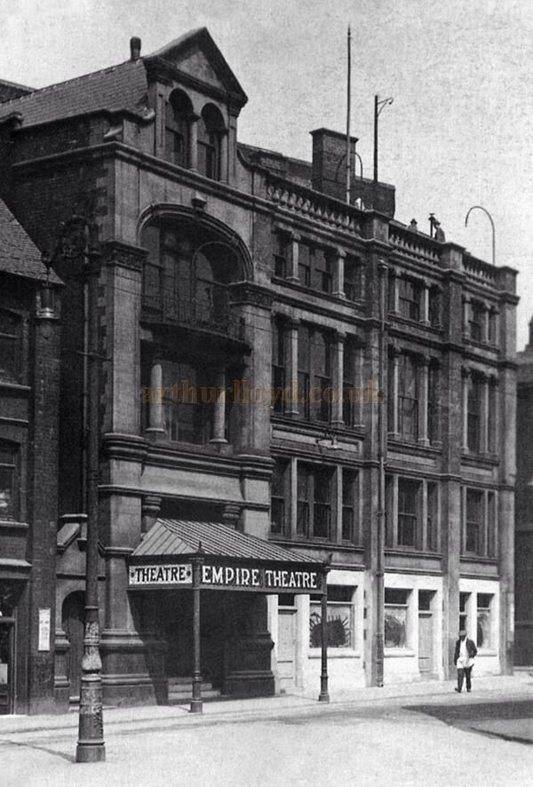 Empire Theatre, Commerce Street, Longton. Later it became a cinema.