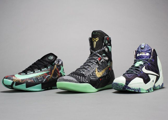 NIKE, Inc. - Laissez Les Bons Temps Rouler: 2014 NOLA Gumbo League Collection - KD Kobe Lebron