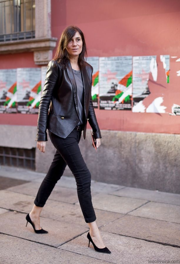 Street Style: Leather Jackets 2