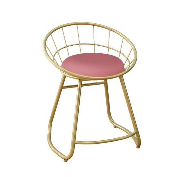 Nordic Makeup Stool Dressing Table Back Chair Makeup Chair Modern