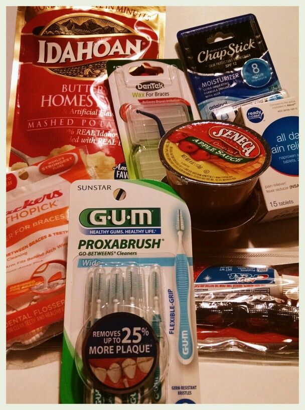 Braces Care Package #braces #adultbraces #bracesproblems