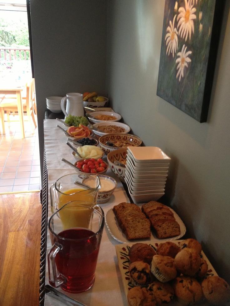 Breakfast buffet www.ballinsheen.com