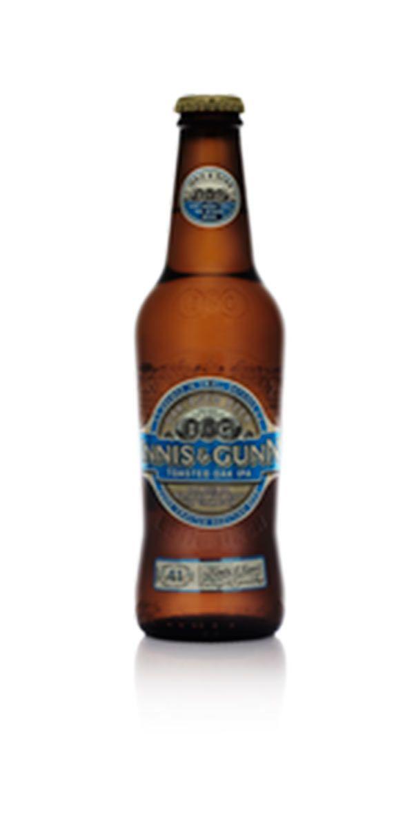 Eklagrad IPA från succébryggeriet Innis & Gunn. Ölet har en balanserad beska och fruktighet med inslag av citrus och härliga vaniljtoner från eklagringen.