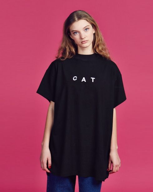 Lazy Oaf Cat T-shirt - Clothing - NEW IN - Womens