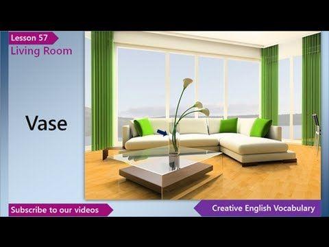 English Vocabulary Lesson 57 U2013 Living Room Vocabulary (English Vocabulary  For A Living Room)