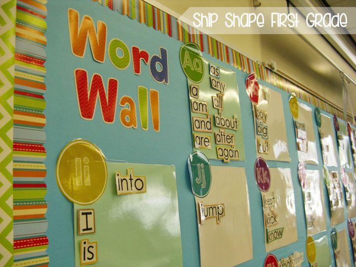 Classroom Decoration Word Worksheet : Best kindergarten word walls word work images