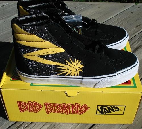 Vans Bad Brains Shoes For Sale