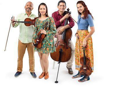 Agenda Cultural do Recife: Quarteto Encore traz obras autorais e mistura de r...