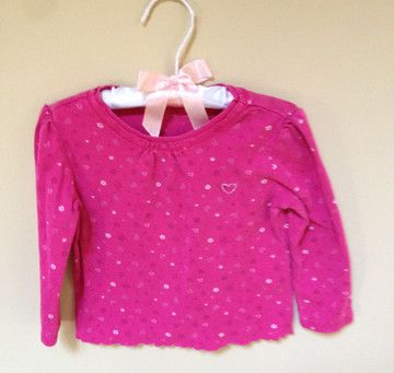 The Children's Place Pink long sleeve Tshirt 24M