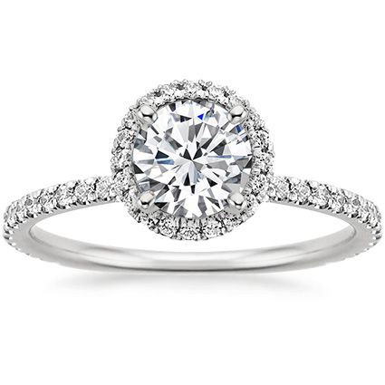 18K White Gold Waverly Diamond Ring from Brilliant Earth