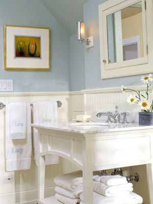 Best 20 cottage style bathrooms ideas on pinterest - White cottage style bathroom vanities ...