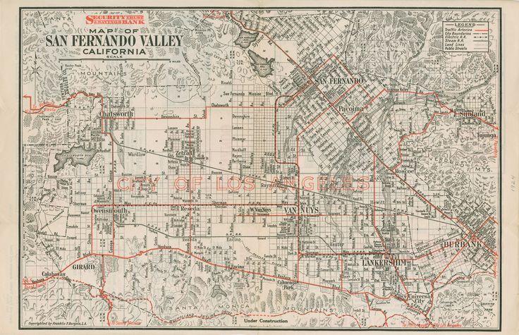 San Fernando Valley, 1924