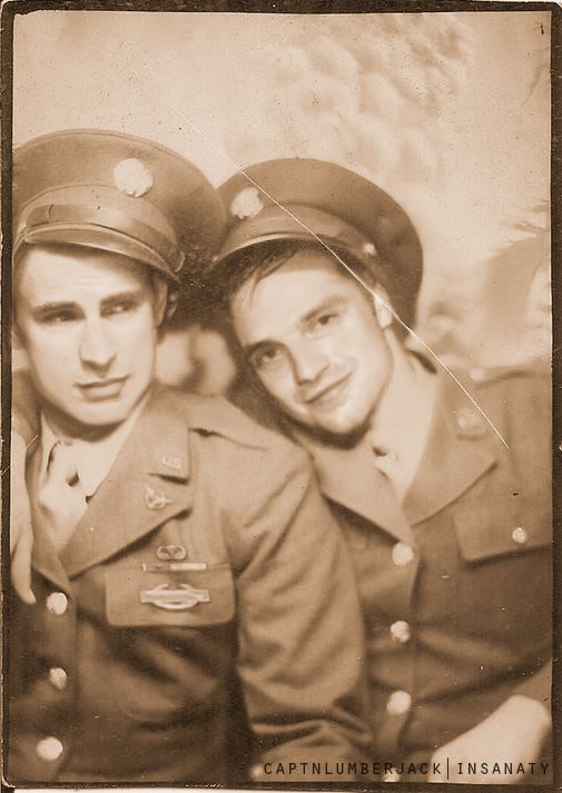 These edits of Steve and Bucky from the 30s are my favourite things.
