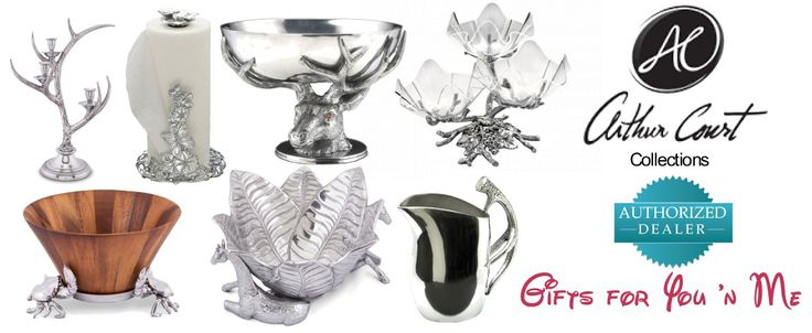 Arthur Court's Collection at gifts4younme.com #weddinggifts #wedding #bowl #platter #drinkware #pyrex #home #diningroom #tableware