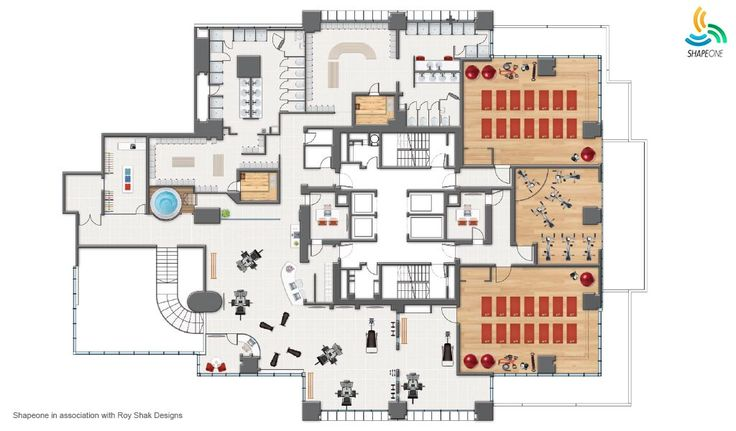 Gym Floor Plan Design Use As Inspiration Tanyo