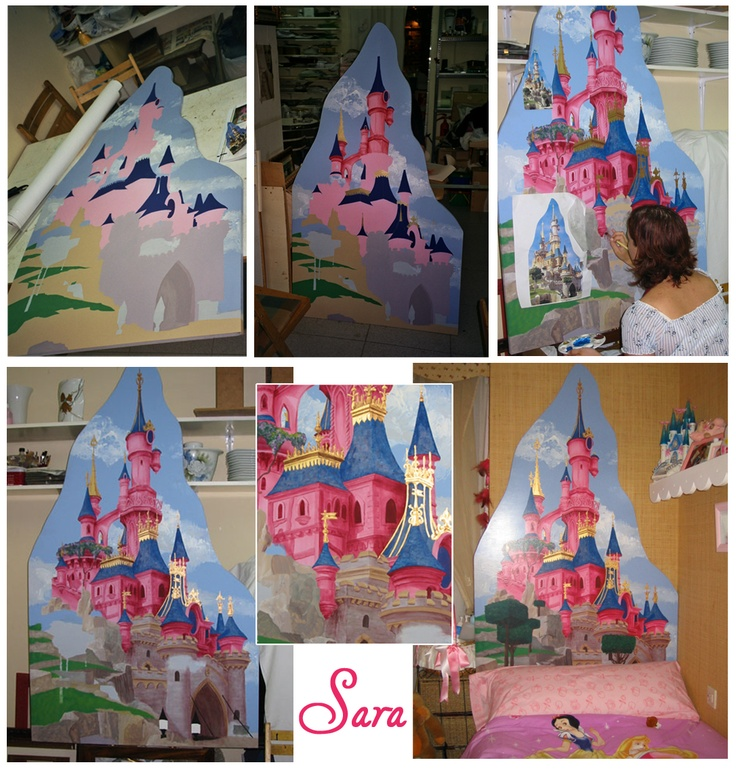 Las 25 mejores ideas sobre cama de castillo en pinterest - Cabezal cama infantil ...