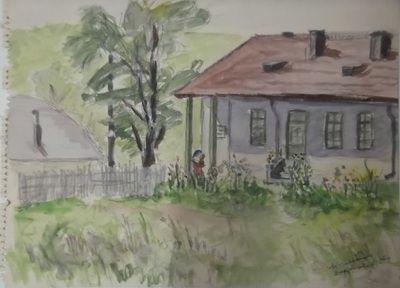 The doctor house - Dragoslavele, Romania - 1964