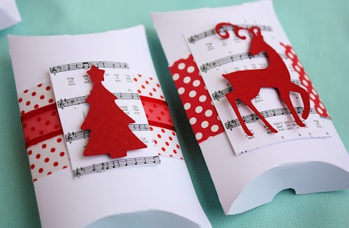 I absolutely love the layered look of the decorations!  Christmas Pillow Box - Easter 2010 Cartridge [2000100] - Cricut Forums