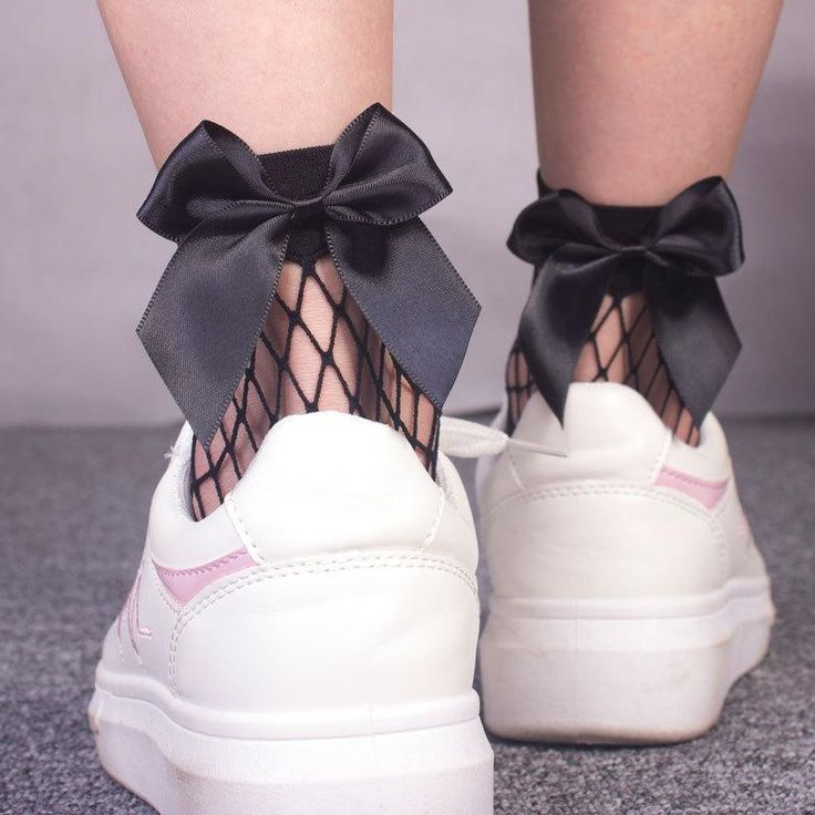 Sweet Bow Net Sock SE20234