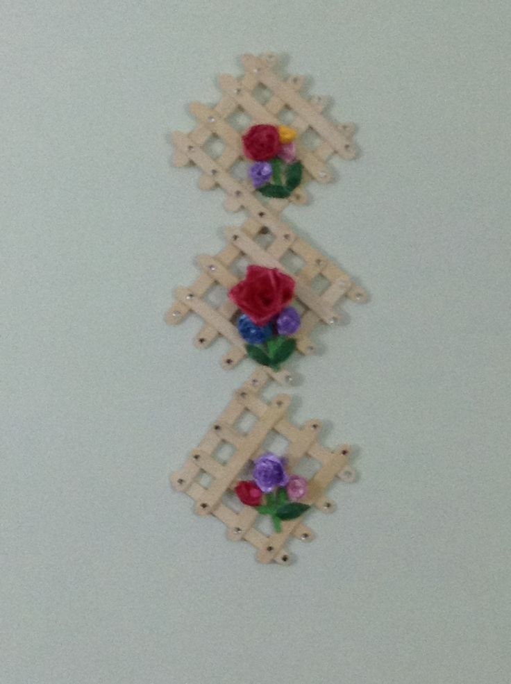 95 Best Ice Cream Stick Peg Craft Images Ideas For Wall Hangings