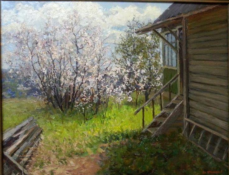 Филиппов Владимир. Вишня цветёт